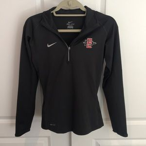 Nike DRI-FIT SDSU Long Sleeve Polo